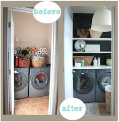 A renter's laundry room makeover for less than $200!
