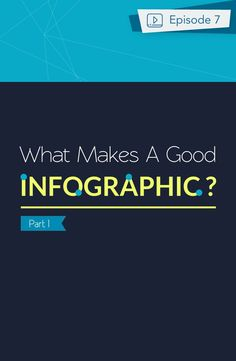 Make Information Beautiful Episode 7 - The essential elements to making a good infographic http://itz-my.com