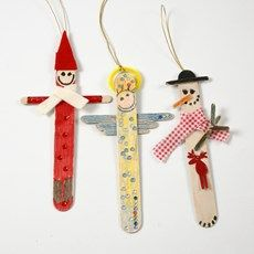 Home-made Christmas decorations - you can make yourself