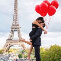 Proposal at the city of #love #bridetobe