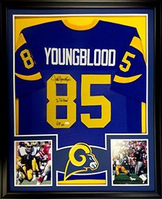Jack Youngblood Framed Jersey Signed JSA COA Autographed Los Angeles Rams Mister Mancave http://www.amazon.com/dp/B00U7KX0VY/ref=cm_sw_r_pi_dp_mm.rwb09FNFW1