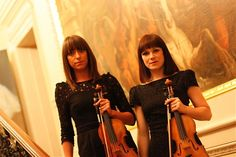 Background music for corporate events at the Royal Academy from Strolling Violin Duo Wing