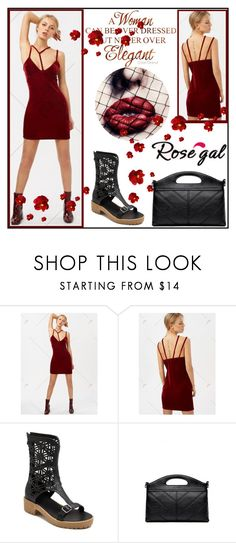 """""""Rose gal set"""" by helena1990 ❤ liked on Polyvore"""