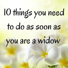 I was not expecting to become a widow, so it caught me completely off guard. I had no idea what to do in any area of my life. 10 ideas for a new widow Funeral Planning Checklist, Retirement Planning, Family Emergency Binder, Funeral Songs, How To Become Happy, When Someone Dies, Last Will And Testament, Life Binder, After Life