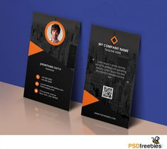Free business cards psd templates 12 pinterest awesome modern corporate business card template free psd download modern corporate business card template free psd this business card free psd template is wajeb Image collections