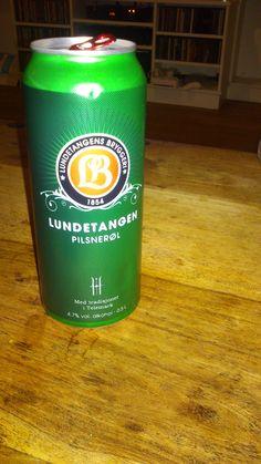 Lundetangen Pilsner from Drammer, Norway