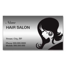 Hair Salon Business Card - 2016 calendar