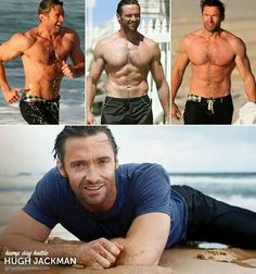 None much hotter than Hugh Jackman shirtless Hugh Jackman Shirtless, Hugh Wolverine, Show Me Pictures, Hugh Michael Jackman, The Greatest Showman, Hommes Sexy, Actors Male, Dream Guy, Good Looking Men
