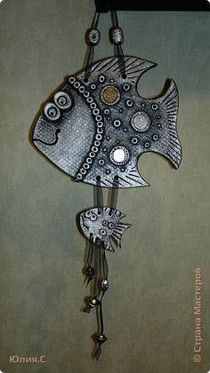 Поделка изделие Лепка Золотые рыбки - солёнушки Часть 1 Тесто соленое фото 5