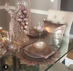 50 Rose Gold Christmas Decor Ideas so that your home tells a Sweet Romantic Story - Hike n Dip