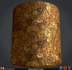 ArtStation - Henry Avery's Coins (Uncharted 4 Fan Art Texture), Kyle Horwood