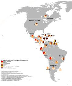 The African diaspora in the Americas, according to a non genetic based estimate by Lizcano: Black, Black African ancestry; African Diaspora, Cartography, Ancestry, Black History, A Team, Infographics, Topographic Map, Latin America, Descendants