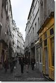 The best day to go to the Marais is on Sunday.