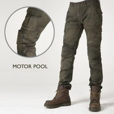 Motorpool motorcycle riding pants