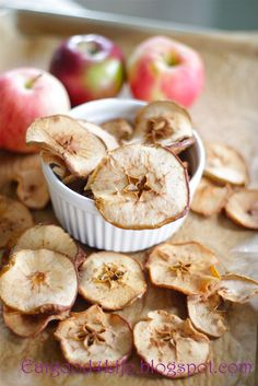 Eat Good 4 Life: Organic Apple chips. All you need is two simple ingredients. These are better than store bought.