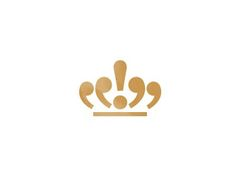 Royal Writers by Ruslan\   Successful logo because it includes punctuation and looks like a crown, so the brand voice is well represented.