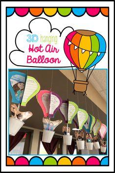 3D Hot Air Balloon t