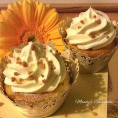 Zitronencupcakes mit einem Frosting aus Mascarpone