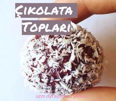 Şekersiz Çikolata Topları ~ Beslenme ve Diyet Hakkında