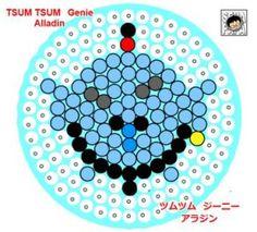 Perler Beads Tsum Tsum genie