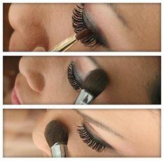correcta forma de maquillar