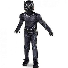 Disney Store Black Panther Halloween Costume Size Large 9 10 Civil War Marvel -- Look into the photo by visiting the web link. (This is an affiliate link). Costume Halloween, Holloween Costumes For Kids, Black Panther Halloween Costume, Costume Garçon, Costumes For Teens, Costume Shop, Costume Ideas, Warrior Costume, Children Costumes