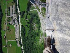8 Klettersteige, bei denen deine Knie weich werden