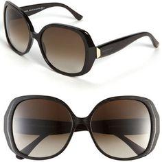 Balenciaga Paris Oversized Sunglasses Dark Brown One Size  $345
