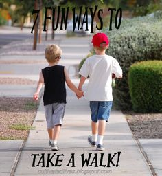 Creative Walk ideas to do with the kids