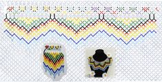 Bead Weaving, Beading Patterns, Beads, Molde, Tutorials, Places, Beading, Bead Patterns, Bead