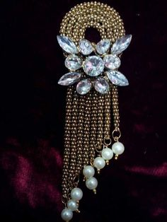 ac8599b1c47 Buy Handmade Small Saree Brooch Saree Brooch, Brooch Pin, Brooches, Sarees,  Handmade