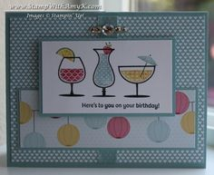 Happy Hour Patio Party by amyk3868 - Cards and Paper Crafts at Splitcoaststampers
