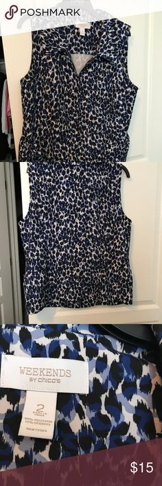 Weekends by Chico Size 2 Excellent condition Chico's Jackets & Coats Vests