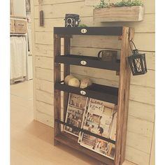 Deco Furniture, Ladder Bookcase, Wine Rack, Diy Design, Magazine Rack, Repurposed, Diy And Crafts, Woodworking, Shelves