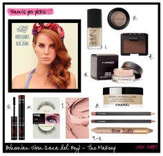 Bohemian Siren Lana Del Rey Tutorial #halloween #costumes #beauty #makeup #tutorial #lanadelray