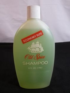 Vintage Old Spice Shampoo 16 Oz Bottle Made in USA   Health & Beauty, Hair Care & Styling, Shampoos & Conditioners   eBay!