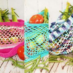Crochet farmer's market  bags from My Only Sunshine