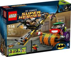 Compare prices on LEGO DC Comics Super Heroes Set Batman The Joker Steam Roller from top online retailers. Save money on your favorite LEGO figures, accessories, and sets. Lego Batman, Le Joker Batman, The Joker, Batman Games, Spiderman, Lego Dc Comics, Dc Comics Superheroes, Gotham City, Dc Universe