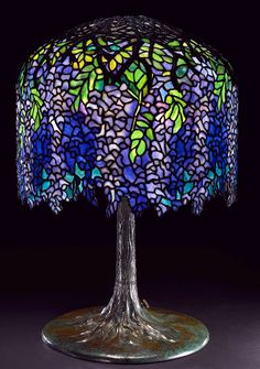 Shining A Little Light On Art Nouveau Icon Louis Comfort Tiffany | ampersand vintage modern
