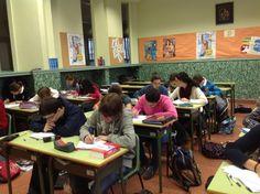 DepLengMaristasOu @MarOuDepLeng Alumnos 1º BAC FRANÇAIS en cooperativo #ourenseenruta #Compostelaenruta