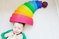 Kaboutermuts; 1 van de meer dan 100 voorbeelden met de Grimm's regenboog #grimmsrainbow - Mamaliefde.nl