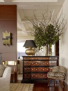 South Shore Decorating Blog beautiful furniture, love the touch of animamal print