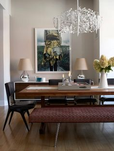 Styling Idea # 45 Bench Seat Dining