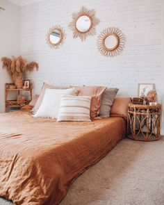 Why People Aren't Discussing Brick Wall Bedroom - futthome Home Bedroom, Room Decor Bedroom, Bedrooms, Dream Bedroom, Bedroom Ideas, Bedroom Inspo, Bedroom Inspiration, Master Bedroom, Brick Wall Bedroom