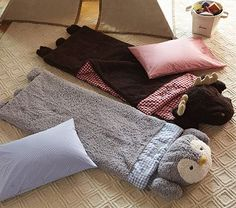 Sherpa Sleeping Bags #PotteryBarnKids