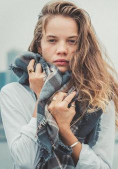 The softest scarf ever in 100% merino wool. Designed and sold by www.sunday-stories.no
