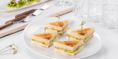Lemony Crab & Cucumber Clubs - Do you need healthy and delicious recipes? Our selection of nutritional recipes are sure to satisfy. Breakfast, lunch, dinner, dessert and snacks, are sorted. Nutritional Recipes, Brown Bread, Crab Meat, Us Foods, Eating Well, Vanilla Cake, Cucumber, Lemon, Yummy Food