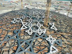 Technology: Construction of the Dome over the Louvre Abu Dhabi - DETAIL inspiration