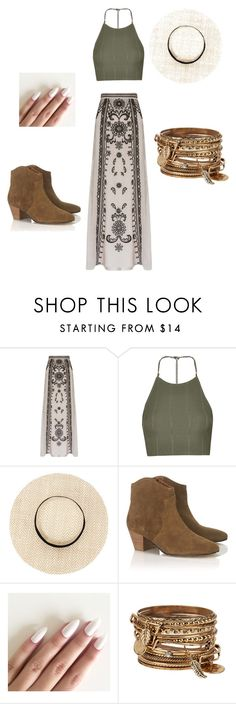 """Festival"" by lexy24 on Polyvore featuring Temperley London, Topshop, Étoile Isabel Marant and ALDO"