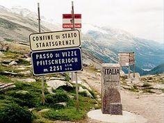 Passo di Vizze (2276 m) - Valico tra Italia e Austria